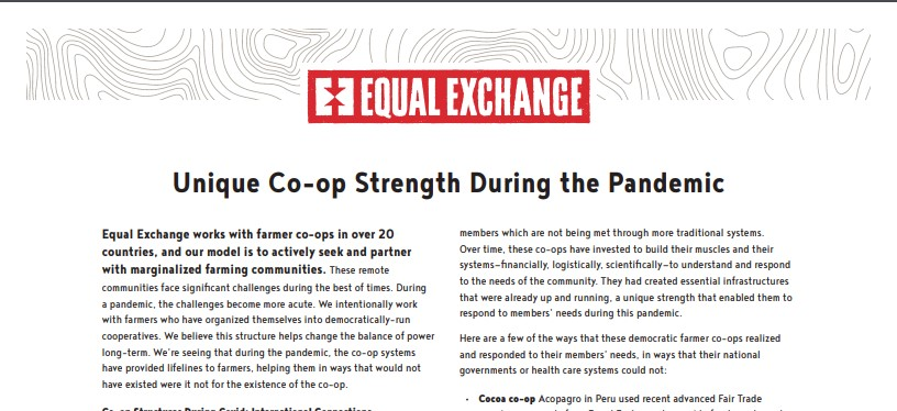 ​​Unique Co-op Strength During the Pandemic