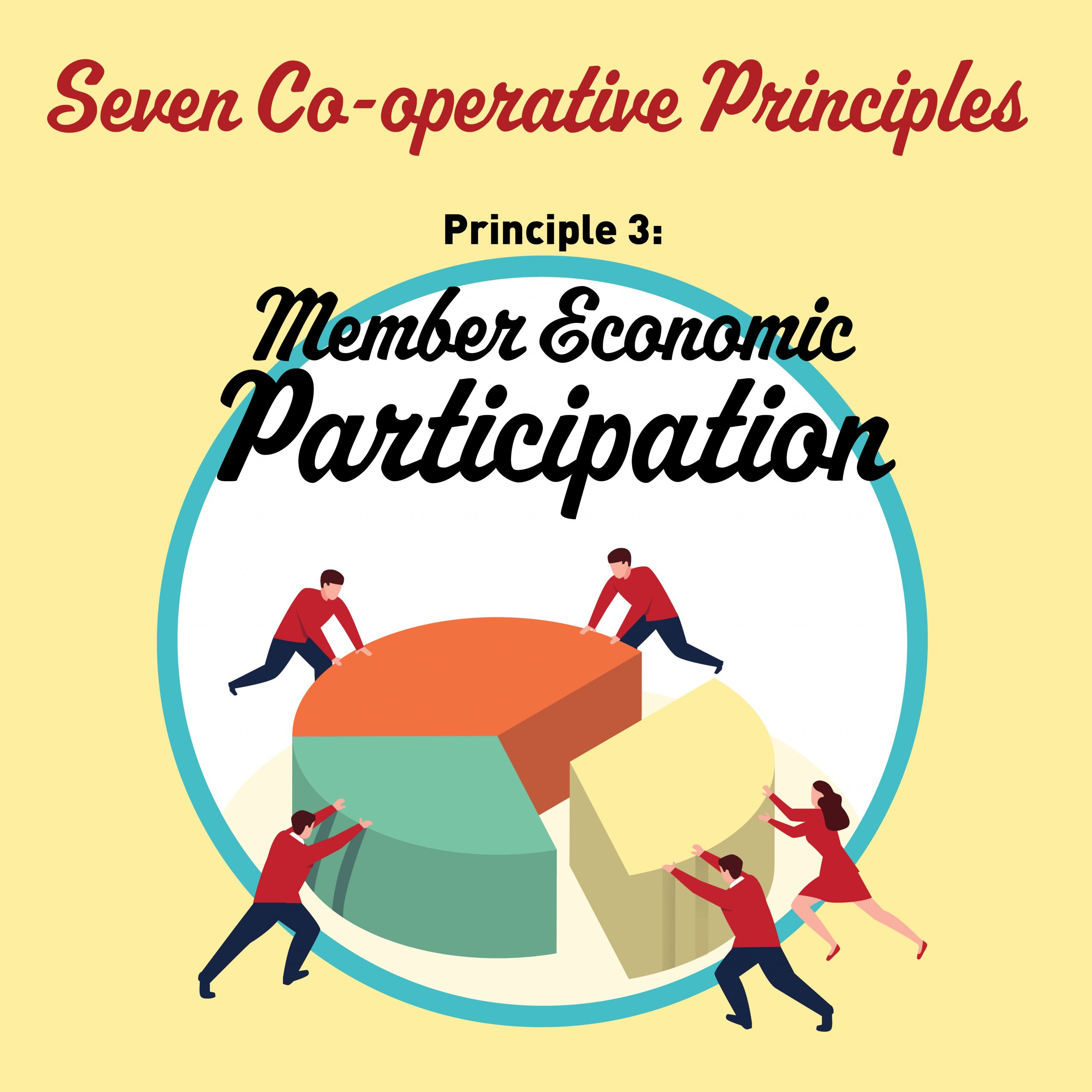 Cooperative Principle #3:  Member Economic Participation