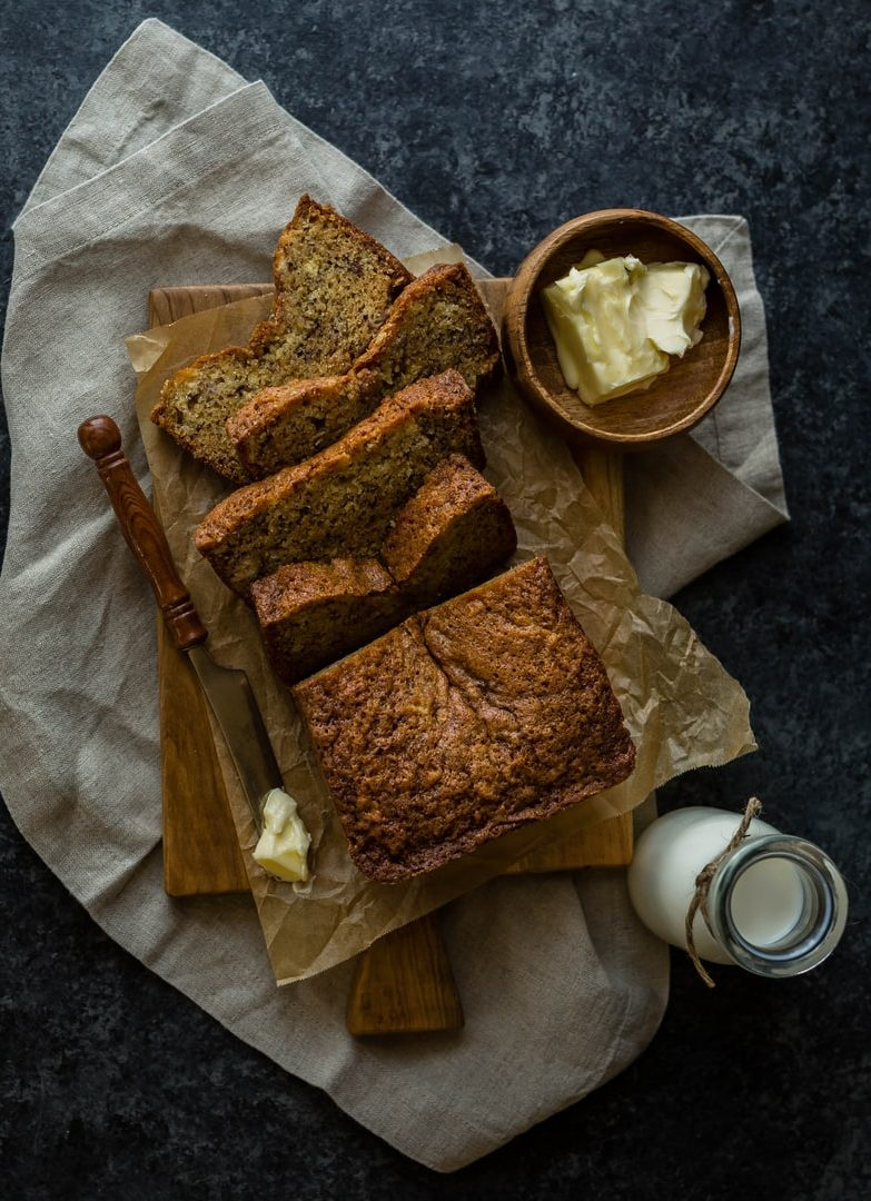 Boozy Banana Bread
