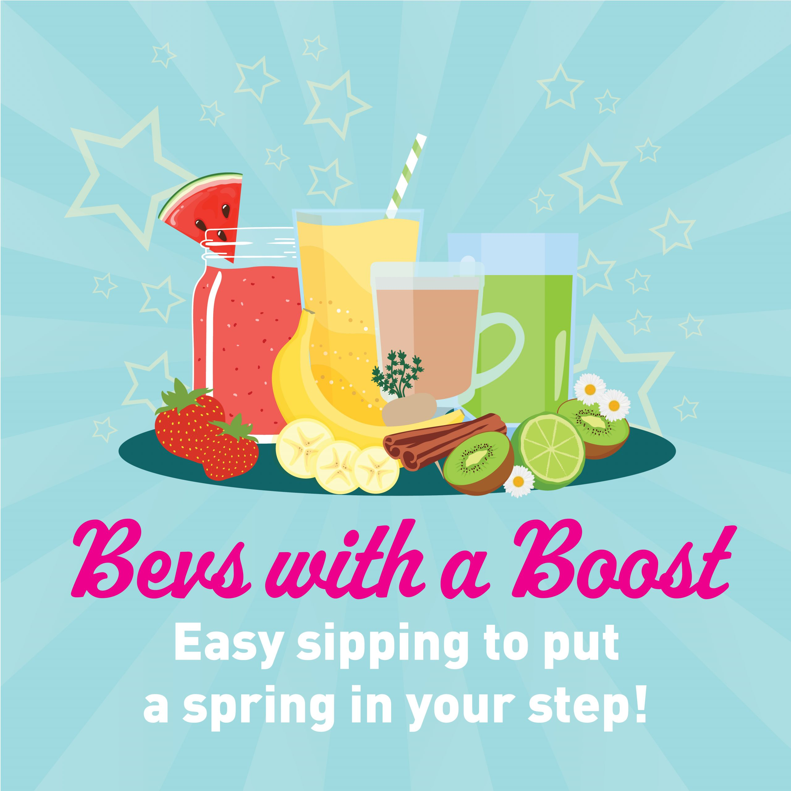 Bevs with a Boost