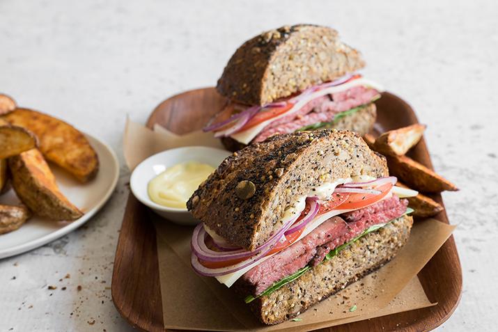 Hanger Steak Sandwiches
